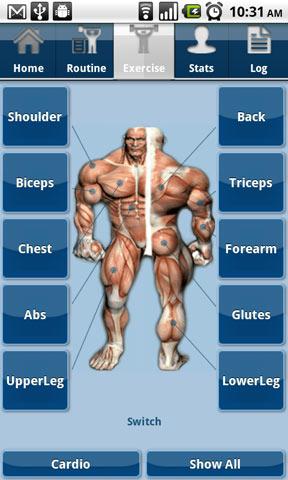 JEFIT Workout, Fitness, GymLog