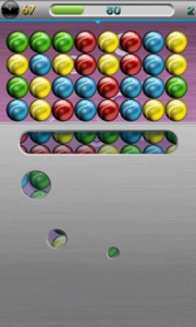 JellyBalls Break the Shield Game Play Mode