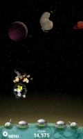 Meteor Storm Moon Base Defense in Game Play 2