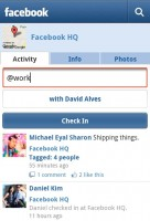 Facebook for Android Places