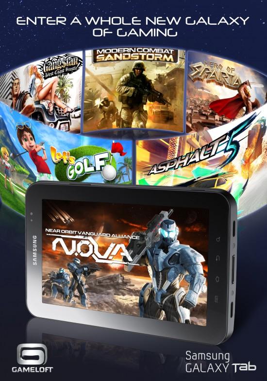 7 HD Samsung Galaxy Tab Games