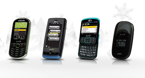 Cyber Monday: Four Free Sprint Phones