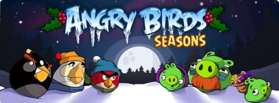 Angry Birds Seasons now available on Android!