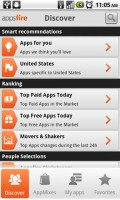 Appsfire Discover Android Apps