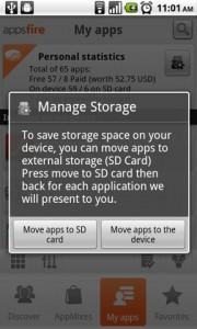 Appsfire Manage Storage