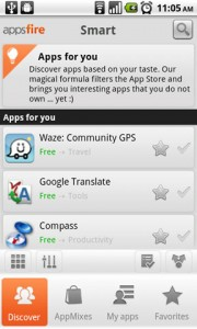 Appsfire Recommended Apps for You
