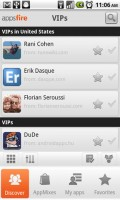 Appsfire Recommended Apps from VIPs