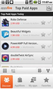 Appsfire Top Paid Apps Today
