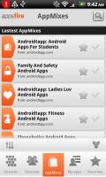 Appsfire 2.0 AppMixes