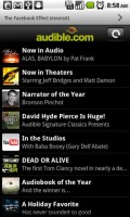 Audible for Android News
