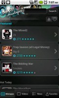 DatPiff Mobile MixTapes Featured