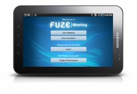Fuze Meeting Hits the Android Tablet
