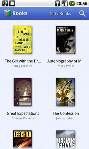 Google Books Android App Launches with Google eBookstore, 3 Million Book Titles Available