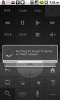 Google TV Remote Finding Google TV Device on Wireless Network