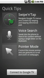 Google TV Remote Quick Tips