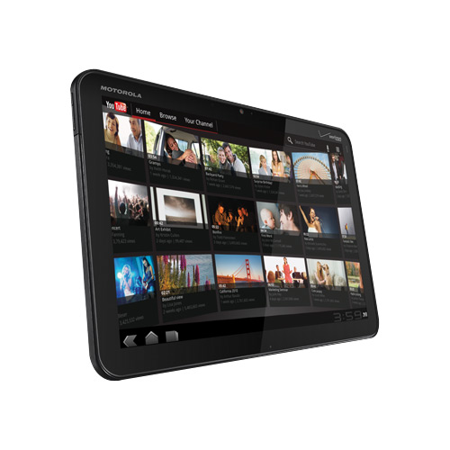 Motorola XOOM Android Tablet Available for Verizon February 24