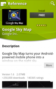 New Android Market App Details Page