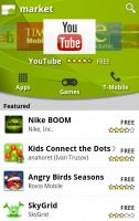 New Android Market Home
