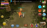 Pocket Legends Game Battle