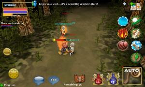 Pocket Legends Game Battle