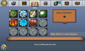 Pocket Legends Skills
