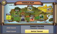 Pocket Legends World Map