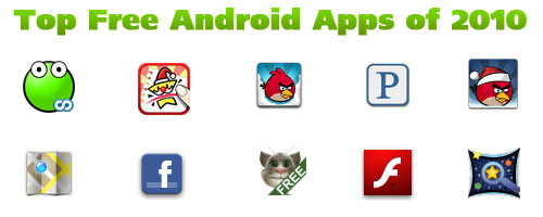 android free apps top