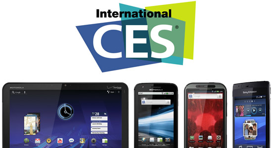 Android Smartphones & Tablets for the Win at CES 2011!