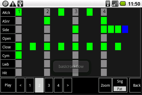 Cadeli Drum Machine