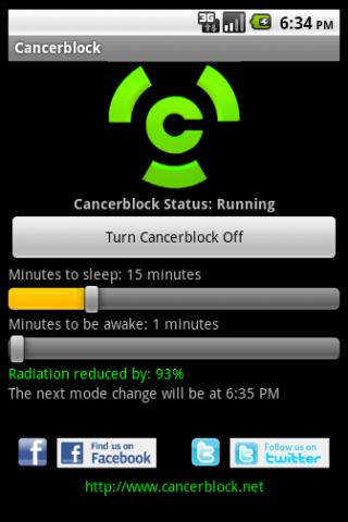 Cancerblock Android App Helps Reduce Possible Cellphone Radiation Exposure