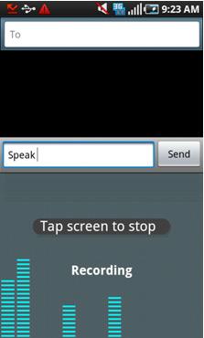 FlexT9 Speak-Trace-Write-Tap