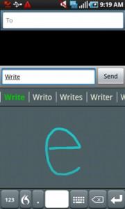FlexT9 Text Input Write