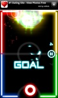 Glow Hockey in Game Play 4
