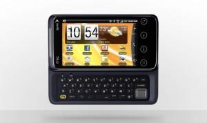 HTC EVO Shift 4G Keyboard Open