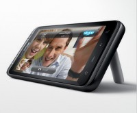 HTC ThunderBolt Horizontal Angle with Kickstand