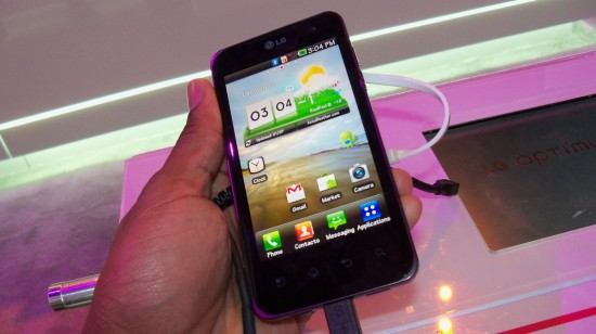 LG Optimus 2X Android Smartphone Demo [Video]