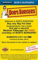 Loopt Rewards for Bob's Burgers