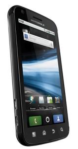 Motorola Atrix 4G Angle View