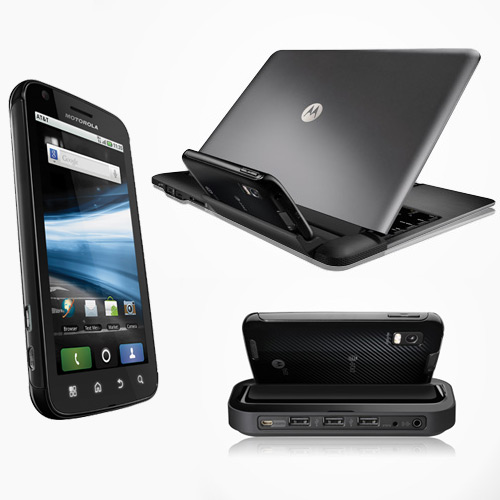 Motorola Atrix 4G with Laptop and HD Multimedia Dock Demo [Video]