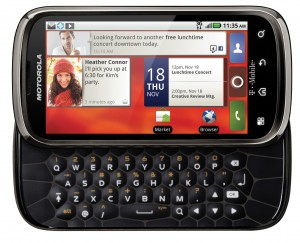 Motorola Cliq 2 Keyboard Open
