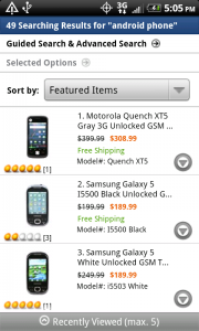 Newegg Search