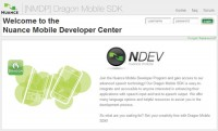 Nuance Mobile Developer Program