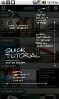 Pulse News Reader Quick Tutorial