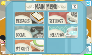 Restaurant Story Settings
