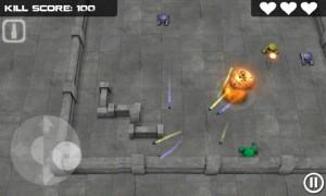 Tank Hero in Game Play 1