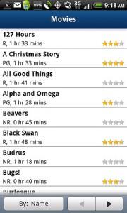 TeleNav GPS Navigator 6.2 Movies Search