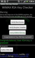 WiMAX RSA Key Checker Success