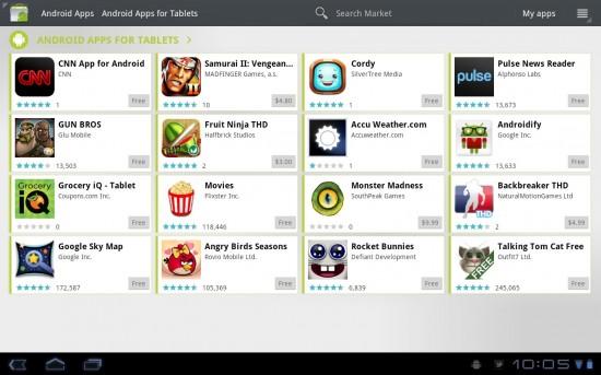 Motorola XOOM Apps