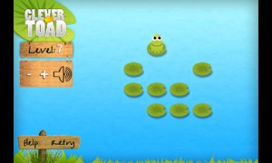 Clever Toad in Game Play 4
