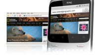 HTC ChaCha Browsing Webpages